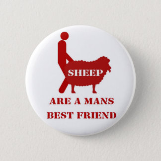 Sheep Badge 2 Inch Round Button