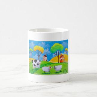 SHEEP COW FOLK PAINTING MAGIC MUG