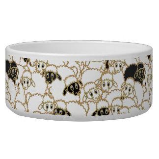 sheep design for Collie Pet Bowl