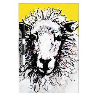 Sheep Dry Erase Board