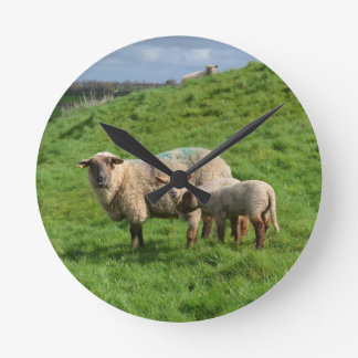 Sheep Family Clocks