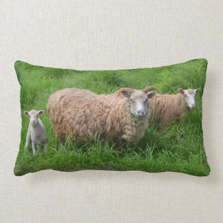 Sheep Family Pillow