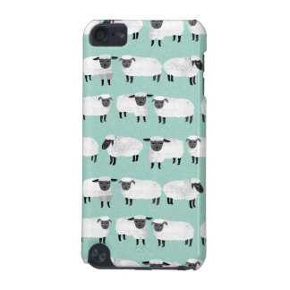 Sheep Farm Animal Sleep Pastel Mint /Andrea Lauren iPod Touch 5G Cover