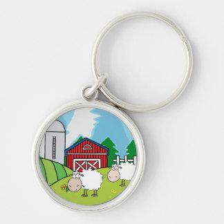 Sheep Farm Keychain
