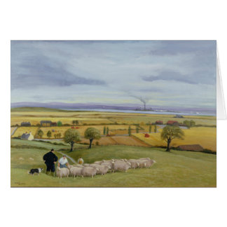 Sheep Farmer Isle of Sheppey Card