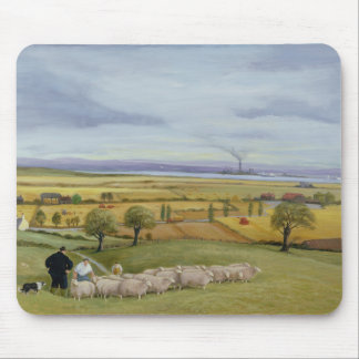 Sheep Farmer Isle of Sheppey Mouse Pad