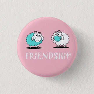 Sheep Funky Friendship Button