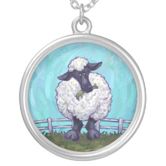 Sheep Gifts & Accessories Silver Plated Necklace