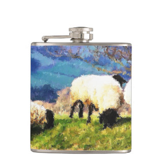 SHEEP HIP FLASK