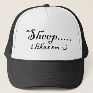 Sheep.....i likes em trucker hat