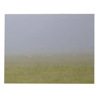 Sheep in the Fog Notepad