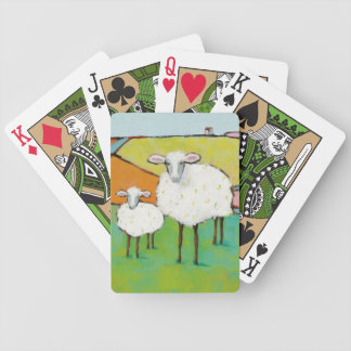 Sheep in the Meadow Bicycle Playing Cards