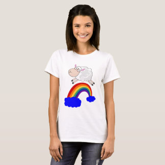 Sheep jumping the rainbow T-Shirt