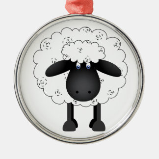 Sheep Metal Ornament