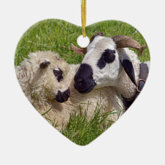 Sheep of Thones et Marthod Ceramic Ornament
