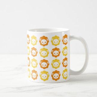 sheep orange coffee mug