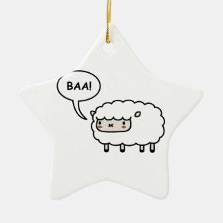 Sheep Christmas Tree Ornaments