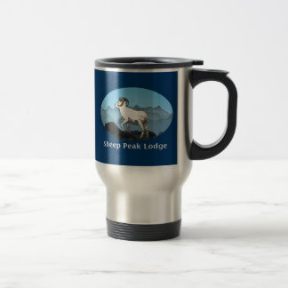 Sheep Peak Lodge Travel Mug