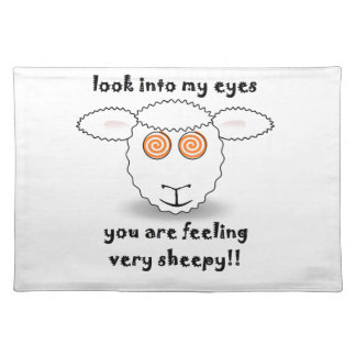 sheep placemats