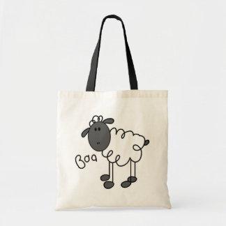Sheep Says Baa Tshirts and Gifts Tote Bag