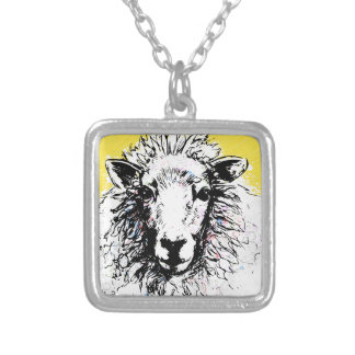 Sheep Silver Plated Necklace