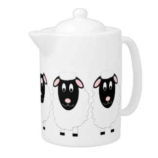 Sheep Teapot