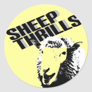 sheep thrills stickers