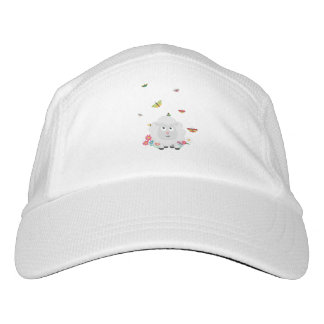 Sheep with flowers and butterflies Z1mk7 Hat