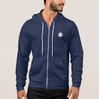Sheep with flowers and butterflies Z1mk7 Hoodie