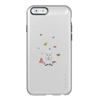 Sheep with flowers and butterflies Z1mk7 Incipio Feather® Shine iPhone 6 Case