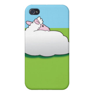 Sheep with his back turned iPhone 4/4S cases