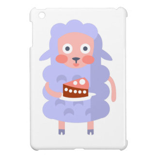 Sheep With Party Attributes Girly Stylized Funky S iPad Mini Case