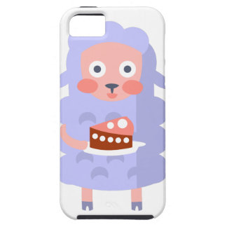 Sheep With Party Attributes Girly Stylized Funky S iPhone 5 Covers