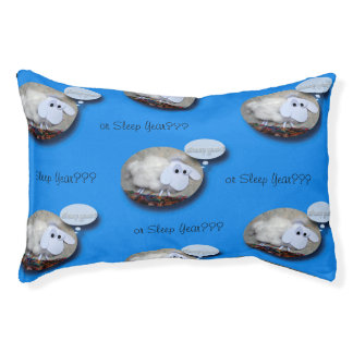 Sheep Year or Sleep Year Cute Pets Bed Small Dog Bed