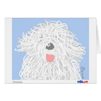 Sheepdog Card