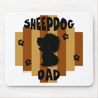 Sheepdog Dad Mousepad