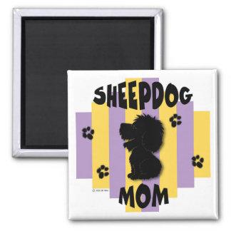 Sheepdog Mom Magnet