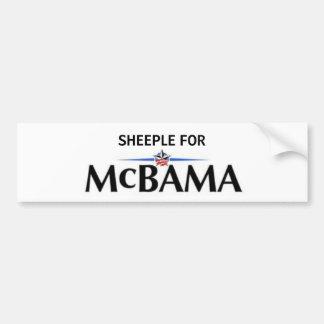 Sheeple for McBama Bumper Sticker