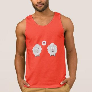 Sheeps in love with heart Z7b4v