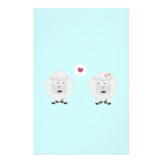 Sheeps in love with heart Z7b4v Flyer