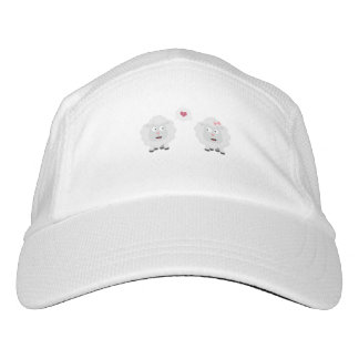 Sheeps in love with heart Z7b4v Headsweats Hat