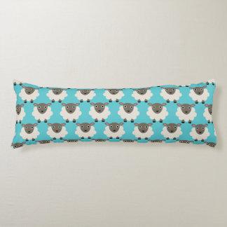 Sheeps seamless pattern body pillow