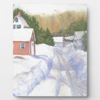 Sheepscott Maine Road Plaque