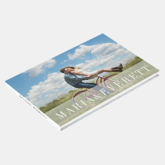 Sheer Overlay | Wedding Photo Guest Book