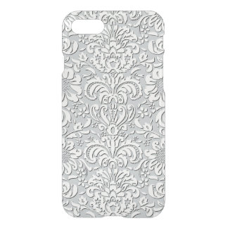 Sheer Silk Floral Effect iPhone Case