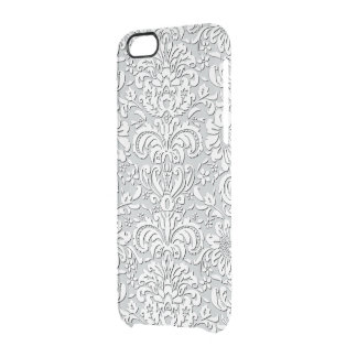 Sheer Silk Floral Print Effect iPhone Case