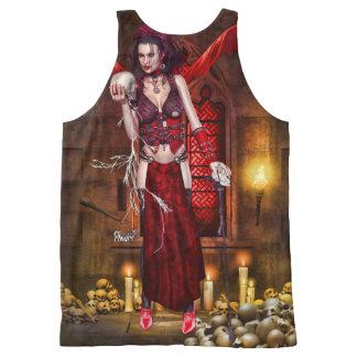 Sheeri Layce  ~Keeper Of Skulls~ All-Over-Print Tank Top
