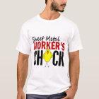 Sheet Metal Worker's Chick T-Shirt