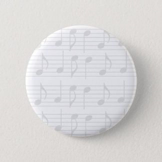 Sheet Music 2 Inch Round Button