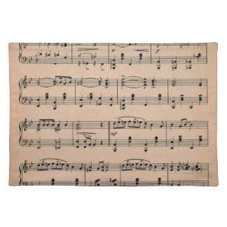 Sheet Music 6 Placemat